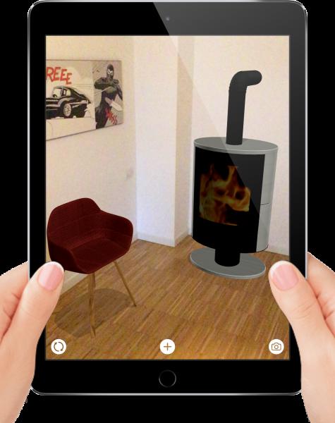Lizard - Realtà aumentata - Scatto foto social